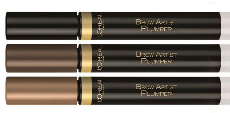 מסקרה לעיצוב גבות לוריאל ב 3 גוונים | L'Oreal Brow Artist Plumper
