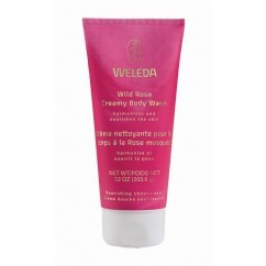תחליב רחצה קרמי ורד הבר WELEDA Wild Rose Creamy Body Wash וולדה