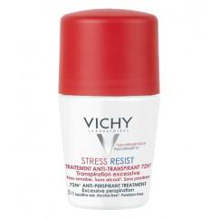 דאודורנט רול-און סטרס רזיסט להזעה מוגברת Vichy Stress Resist Deodorant 72H וישי