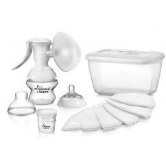 טומי טיפי משאבת חלב ידנית להנקה הכי טבעי | Tommee Tippee Breast Pump