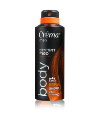 דאודורנט ספריי Crema MEN ULTIMATE
