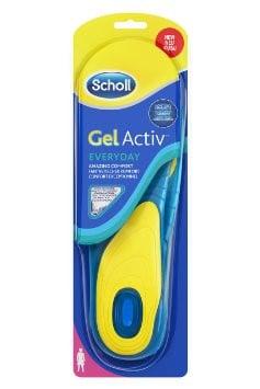שול רפידות ג'ל אקטיב לשימוש יומיומי לנשים Scholl Gel Activ EVERYDAY