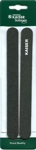 פצירה רכה שחורה ורחבה | 2 יחידות | קייזר KAISER