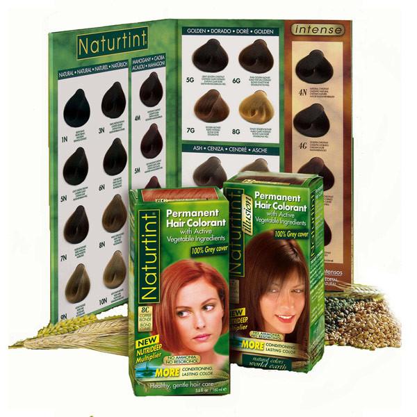 נטורטינט | NATURTINT | צבע לשיער ללא אמוניה טבעי לכיסוי שיער לבן