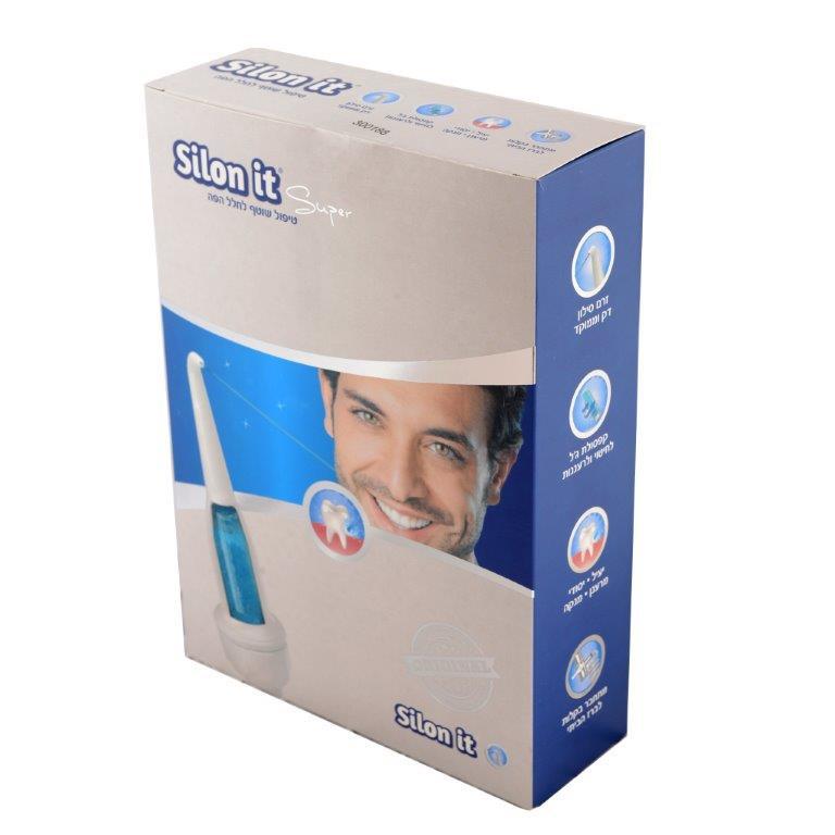 מגניב סילונית סופר איזי | סילון מים לניקוי יסודי של השיניים וחלל הפה WQ-24