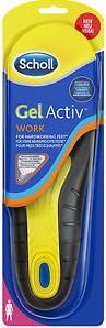 שול רפידות ג'ל אקטיב נעלי עבודה לנשים Scholl Gel Activ WORK