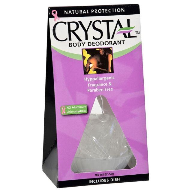 דאודורנט אבן קריסטל CRYSTAL DEODORANT