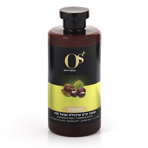 שמפו קיק שיבולת שועל לחיזוק השערה OS+ Castor Oil Shampoo