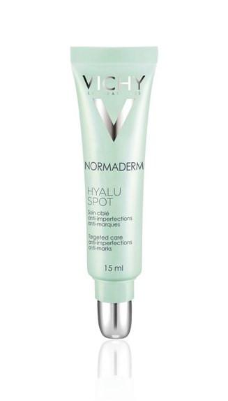 נורמדרם היאלוספוט ג'ל לטיפול ממוקד בפגמי עור פנים שמן VICHY NORMADERM HYALUSPOT וישי