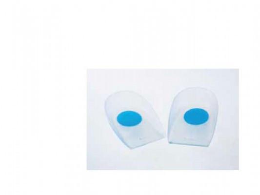 עקבי סיליקון נקודה כחולה לתמיכה בעקב הרגל | Silicone Heel Pads EUNICE MED