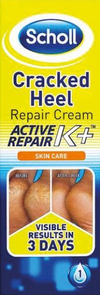 שול Scholl קרם טיפולי לעור סדוק בכף הרגל | בתוספת קרטין | Cracked Heel