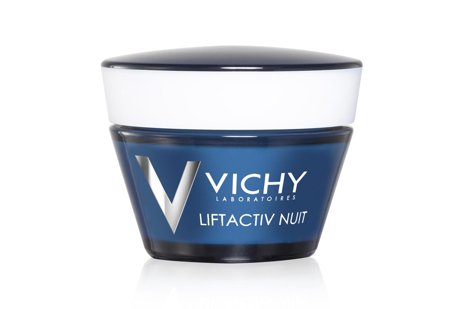 קרם פנים ליפטאקטיב ללילה דרמסורס לטיפול ומניעה של קמטים VICHY Liftactiv Night Derm source