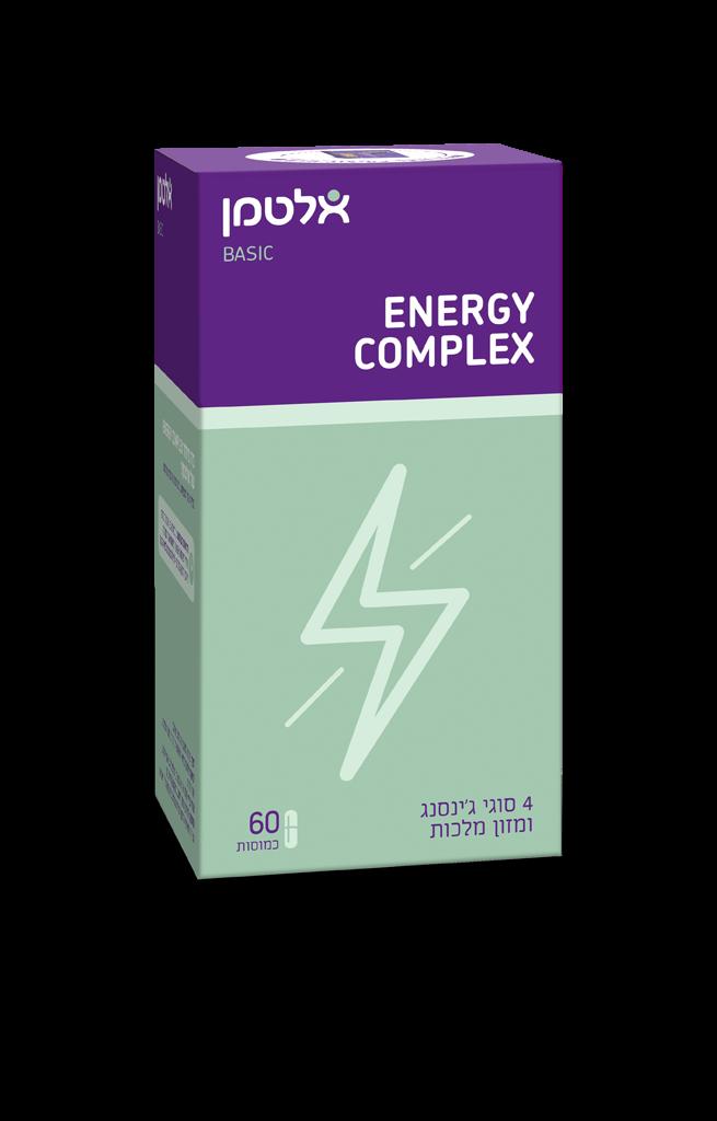 אנרג'י קומפלקס ג'ינסנג ומזון מלכות Energy Complex אלטמן