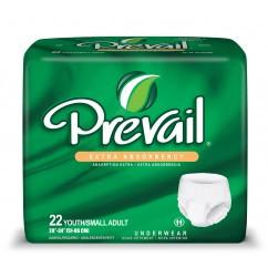 פריבייל 22 תחתונים סופגים למבוגרים במידה Y / S | רביעייה במבצע | PREVAIL