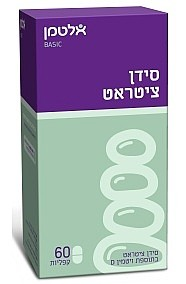 סידן ציטראט בתוספת ויטמין D400 אלטמן 60 קפליות