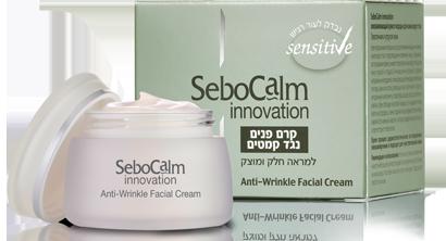 קרם פנים נגד קמטים למראה חלק ומוצק SeboCalm Innovation סבוקלם
