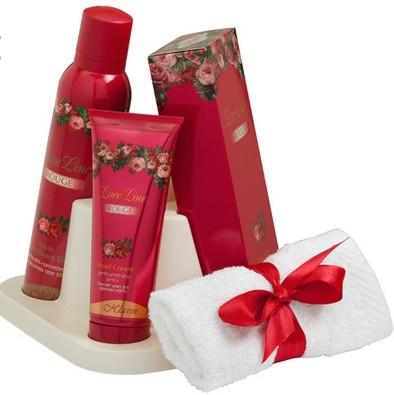 חלאבין סט מתנה לאב ליין אדום | Hlavin Love Line Red Set