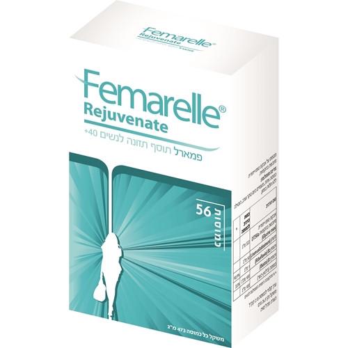פאמרל תוסף תזונה לטרום גיל המעבר לגילאי 40-50 Femarelle Rejuvenate