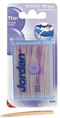 ג'ורדן קיסמי שיניים דקים דו צדדיים | Jordan Thin Toothpicks