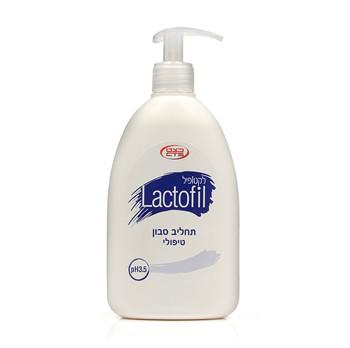 לקטופיל | תחליב סבון טיפולי לעור עדין, יבש ומגורה Lactofil