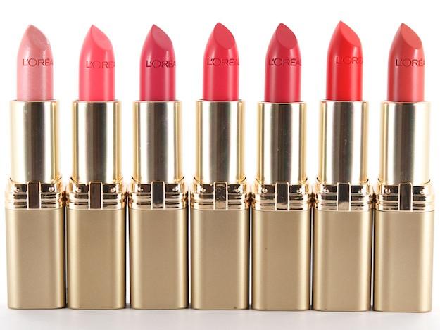 לוריאל שפתון קולור ריש במגוון צבעים | L'Oreal Color Riche Lipstick