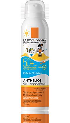 אנתליוס ספריי להגנה גבוהה במיוחד מהשמש לילדים Anthelios Spray For Children Spf 50 לה רוש פוזה LA ROCHE POSAY