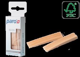פארו 1751 | קיסמי עץ דקים במיוחד מיקרו סטיקס | Paro Micro-Sticks