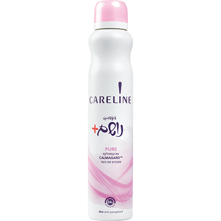 קרליין דאודורנט ספריי נושם פיור | CARELINE Pure Deodorant Spray