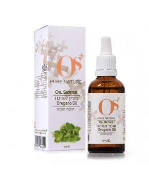 שמן אורגנו אורגני עם שמן זית Oil Oregano OS+