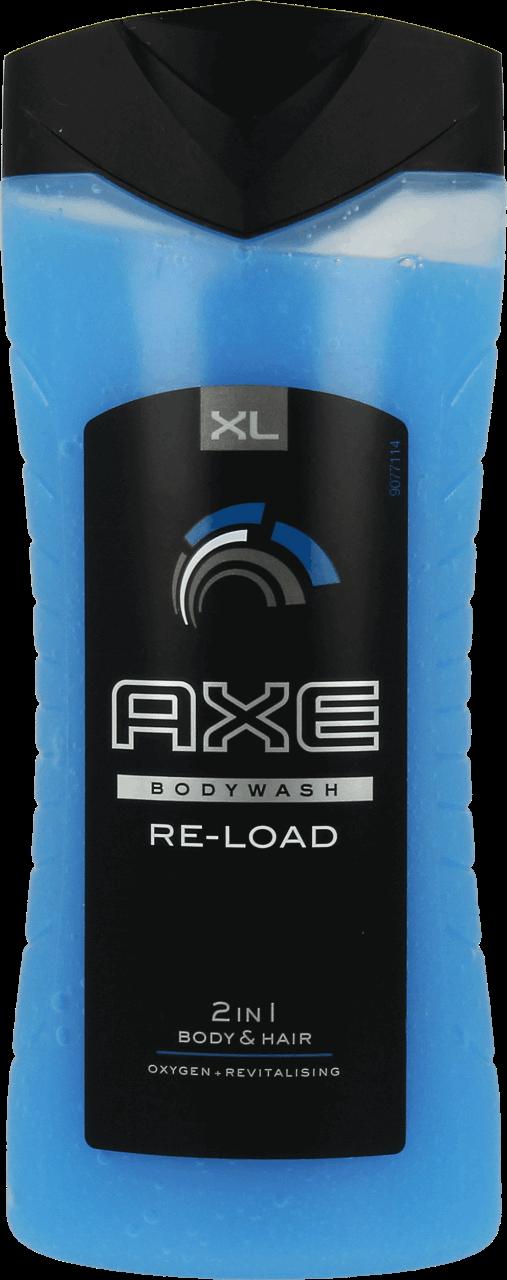 אקס שמפו וג'ל רחצה 2 ב-1 AXO RE-LAOD