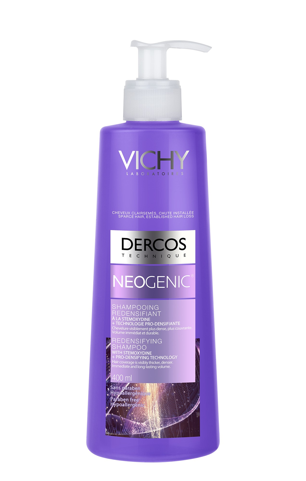 שמפו נאוג'ניק לטיפול בשיער דליל | VICHY DERCOS NEOGENIC SHAMPOO וישי