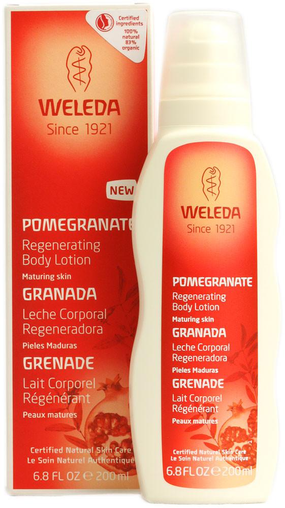 קרם גוף רימונים משקם בתחליב WELEDA Pomegranate Body Lotion וולדה