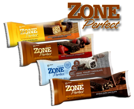 חטיפי חלבון זון פרפקט במגוון טעמים לבחירה   ZONE Perfect nutrition Bars