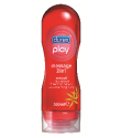 2 ב-1 סנשואל מסאז' וג'ל סיכוך | Durex Play Massage 2 In 1 דורקס פליי
