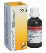 דוקטור רקווג DR. RECKEWEG R33 טיפות לטיפול תומך באפילפסיה