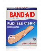 בנד אייד פלסטר גמיש Flexible Fabric BAND AID