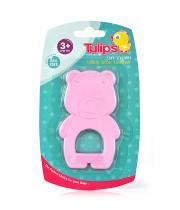 טוליפס נשכן סיליקון רך לתינוק | TULIPS TEETHER