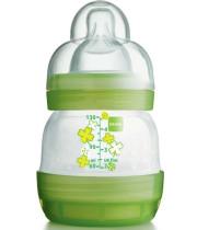 """בקבוק לתינוק 130 מ""""ל למניעת גזים כאבי בטן מאמ"""