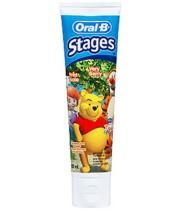 אוראל בי משחת שיניים לתינוקות ולילדים