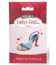 מדרסים לנשים 377 Lady'S feet אוריאל