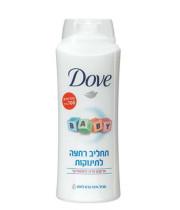תחליב רחצה לתינוקות Dove Baby דאב