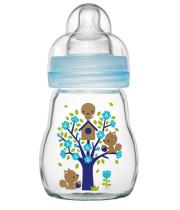 """מאמ בקבוק זכוכית לתינוק 170 מ""""ל"""