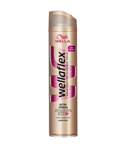 WELLA - וולה פלקס - ספריי לשיער לעיצוב חזק במיוחד Wellaflex ULTRA Strong