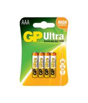 סוללות AAA GP ULTRA 4 יחידות