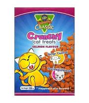 קרנצ`י חטיף לחתולים 80 גרם בטעם סלמון או טונה - Crunchy