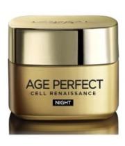 אייג פרפקט רנסנס קרם לילה Age Perfect Renaissance Night Cream L'Oreal לוריאל