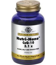 נוטרי נאנו קו אנזים Q10 SOLGAR Nutri Nano CoQ-10 סולגאר