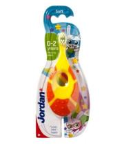 מברשת שיניים לתינוקות | גילאי 0-2 Jordan