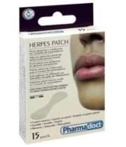 פארמה דוקט פלסטר שקוף לשפתיים לכיסוי פצעי הרפס