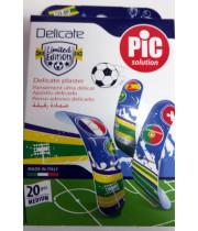 פלסטר מונדיאל 20 יחידות PIC DELICATE PLASTER
